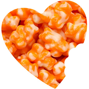 Orange Creamsicle Gummy Bears