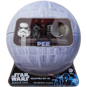 Death Star PEZ Collectible Tin