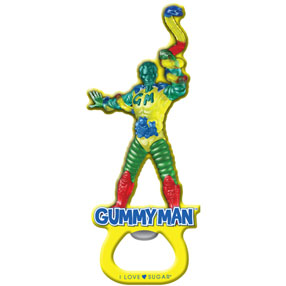 Gummyman Bottle Opener