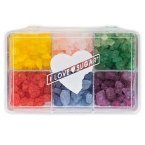 I Love Sugar Rock Candy Assortment