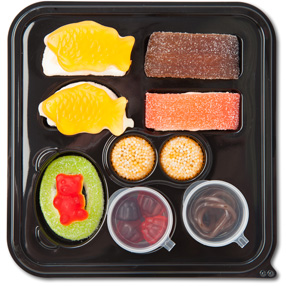 9 Piece Gummy Sushi Set