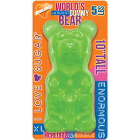 Giant Gummy Bear Lime