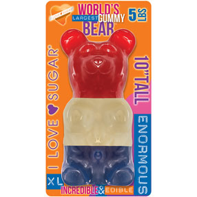 World's Largest Gummy Patriotic Bear